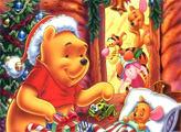 Игра Санта Пух - плиточный пазл