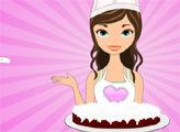 Игра Вкусные рецепты Дженни: красный бархатный торт