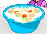 Игра Детская кухня: курица с рисом