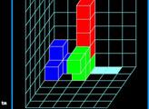 Игра Тетрис в кубе