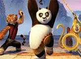 Игра Кунг-фу Панда: Поиск цифр