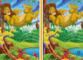 Игра Король Лев: 6 отличий