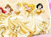 Игра Диснеевские принцессы - плиточный пазл
