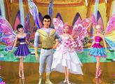 Игра Семья Барби - плиточный пазл