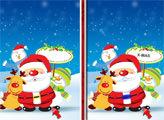 Игра Рождественский Санта: 6 отличий