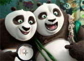 Игра Кунг-фу Панда 3: Поиск цифр