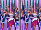 Игра Барби: Рок-принцесса - 6 отличий