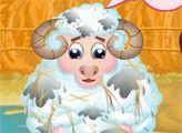 Игра Дневной уход за овечкой