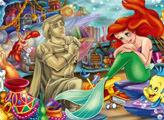 Игра Любовь Русалочки Ариэль- плиточный пазл