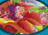 Игра Барби Дюймовочка - веселый пазл 2