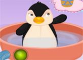 Игра Дневной уход за пингвином Рой