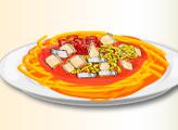 Игра Домашние рецепты: Спагетти с курицей