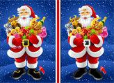 Игра Санта Клаус: 6 отличий