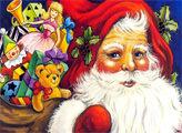 Игра Санта Клаус - плиточная мозаика