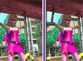 Игра Супер Барби: 6 отличий