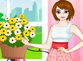 Игра Цветочная девушка