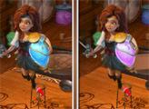 Игра Феи: Загадка пиратского острова - 6 отличий