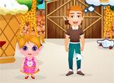 Игра Малышка Хлоэ: День в зоопарке
