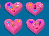 Игра Печенье Валентинка с шоколадной помадкой