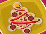 Игра Пицца - Рождественская елка