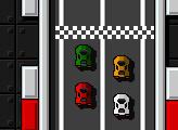 Игра Ретро-пиксельные гонщики