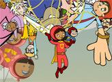 Игра Воздушный шар - плиточный пазл