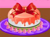 Игра Готовим Новогодний торт 2015