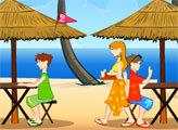 Игра Пляжное кафе