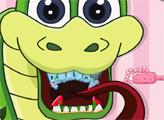 Игра Плохие зубки змейки