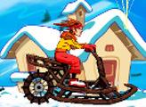 Игра Безумный Снегоход