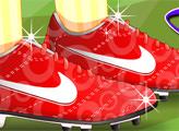 Игра Обувь фанатки ФИФА