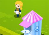 Игра Семейный бизнес Тины - кемпинг