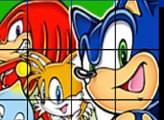 Игра Sonic Пятнашки!