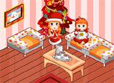 Игра Рождественские комнаты