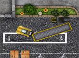 Игра Парковка большого грузовика