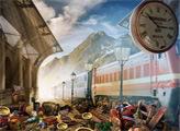 Игра Поездка на поезде