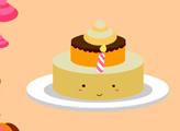Игра Укрась тортик