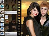 Игра Знаменитости: День Святого Валентина Джастина и Селены