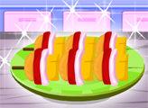 Игра Кулинарный мастер: Овощной кебаб