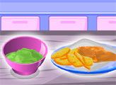 Игра Кулинарный мастер: Рыба и чипсы