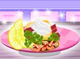 Игра Кулинарный мастер: обёрнутый стейк с гуакамоле