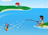 Игра Ловим рыбу
