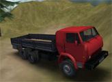 Игра Водитель грузовика и сумасшедшая дорога