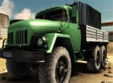 Игра Водитель грузовика и сумасшедшая дорога 2