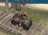 Игра Триал квадроциклов на пляже 2