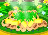 Игра Хрустящие кальмары с манго-салатом