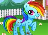 Игра Уход за радужным пони