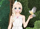 Игра Девушка и птицы