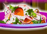 Игра Кулинарный дом Диди 29 - Салат со стеклянной лапшой