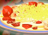 Игра Кулинарный дом Диди 26 - Паста с креветками